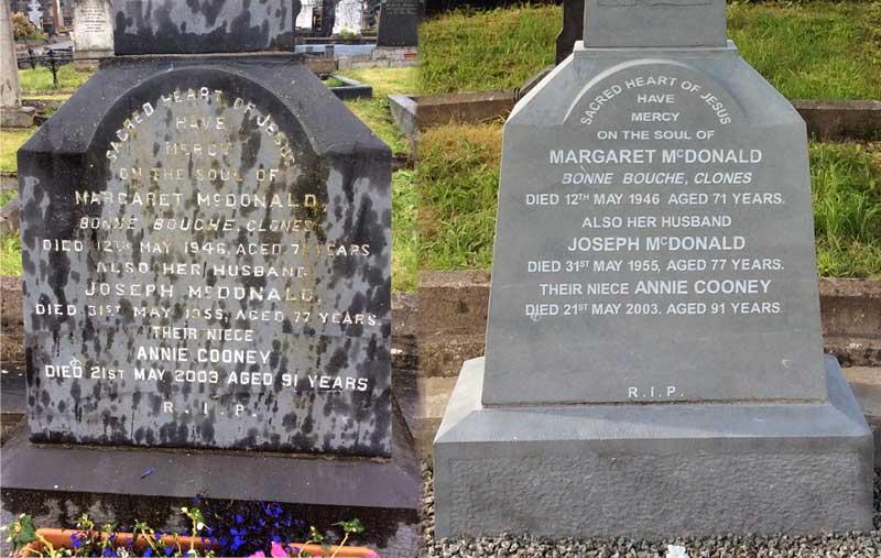Grave Headstone Restoration Amp Cleaning Leonard